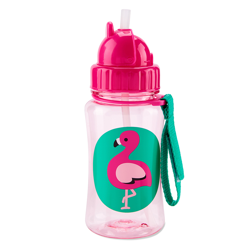 Picture of Skip Hop® Straw Bottle Flamingo