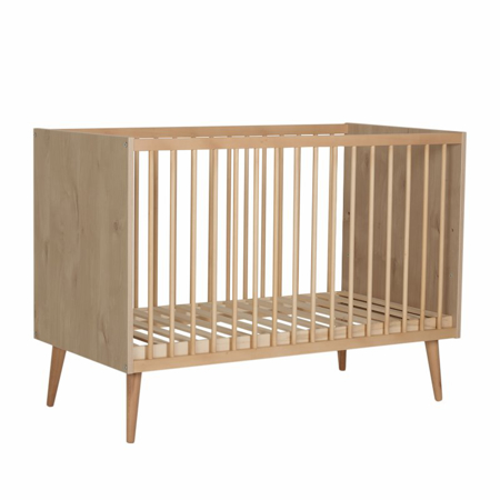 Quax® Cocoon Baby Bed 120x60 Natural Oak