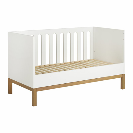 Picture of Quax® Baby Cot/Bench Indigo 140x70 White