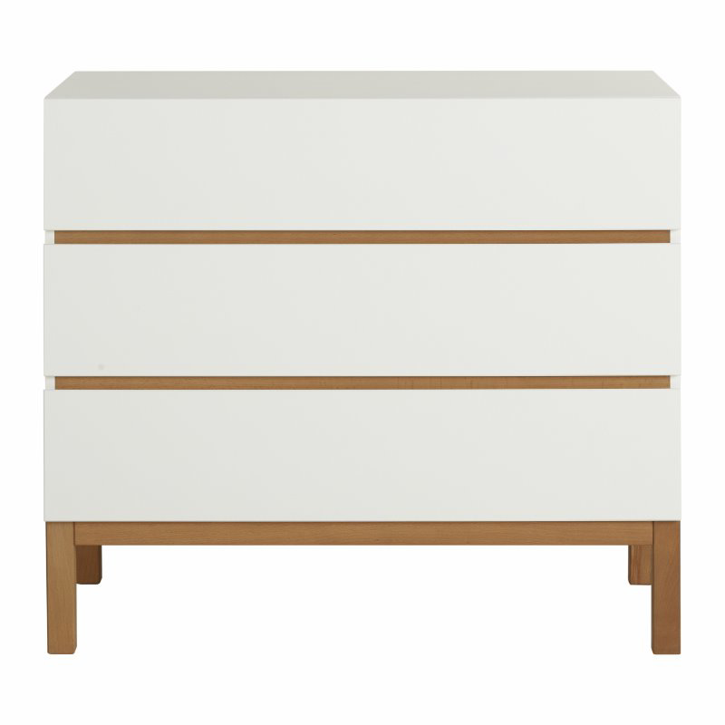 Picture of Quax® Modern Chest 3 Drawers Indigo White