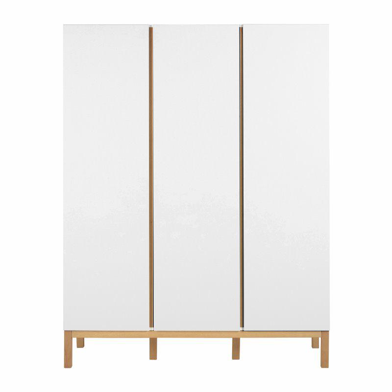 Picture of Quax® Wardrobe 3 Doors XL Indigo White