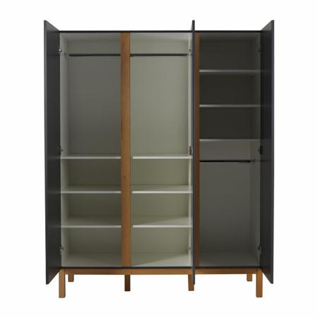 Picture of Quax® Wardrobe 3 Doors XL Indigo Moonshadow