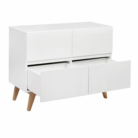 Picture of Quax® Modern Chest 4 Drawers Trendy White