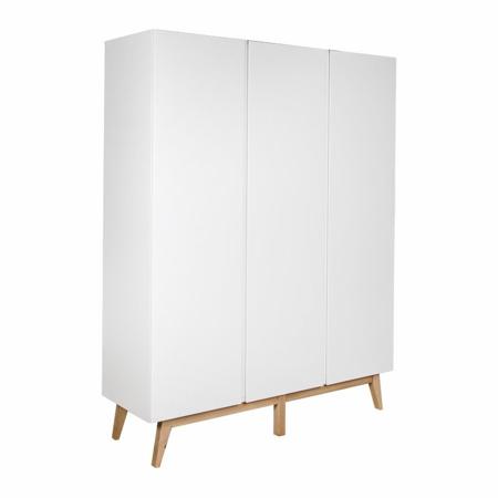 Picture of Quax® Wardrobe 3 Doors XL Trendy White