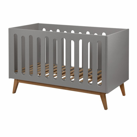 Picture of Quax® Baby Cot/Bench Trendy 140x70 Griffin Grey