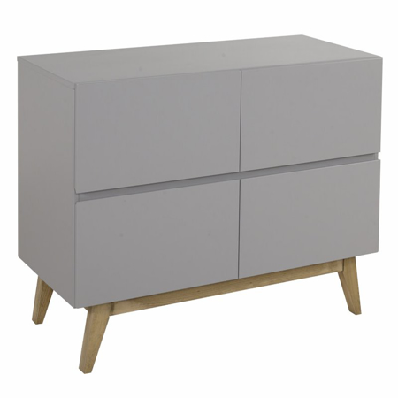 Picture of Quax® Modern Chest 4 Drawers Trendy Griffin Grey