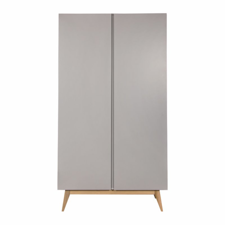 Picture of Quax® Wardrobe 2 Doors Trendy Griffin Grey