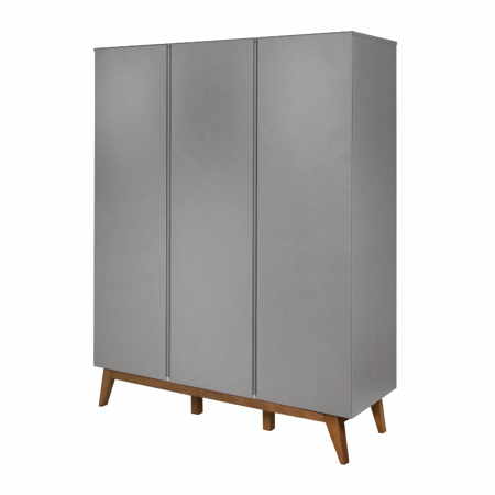 Picture of Quax® Wardrobe 3 Doors XL Trendy Griffin Grey