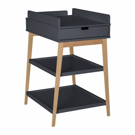 Quax® Changing Table + Drawer Hip Moonshadow