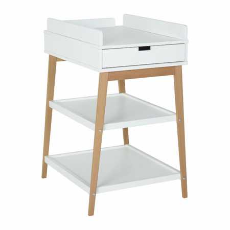 Quax® Changing Table + Drawer Hip Natural