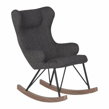 Picture of Quax® Rocking Kids Chair De Luxe Black