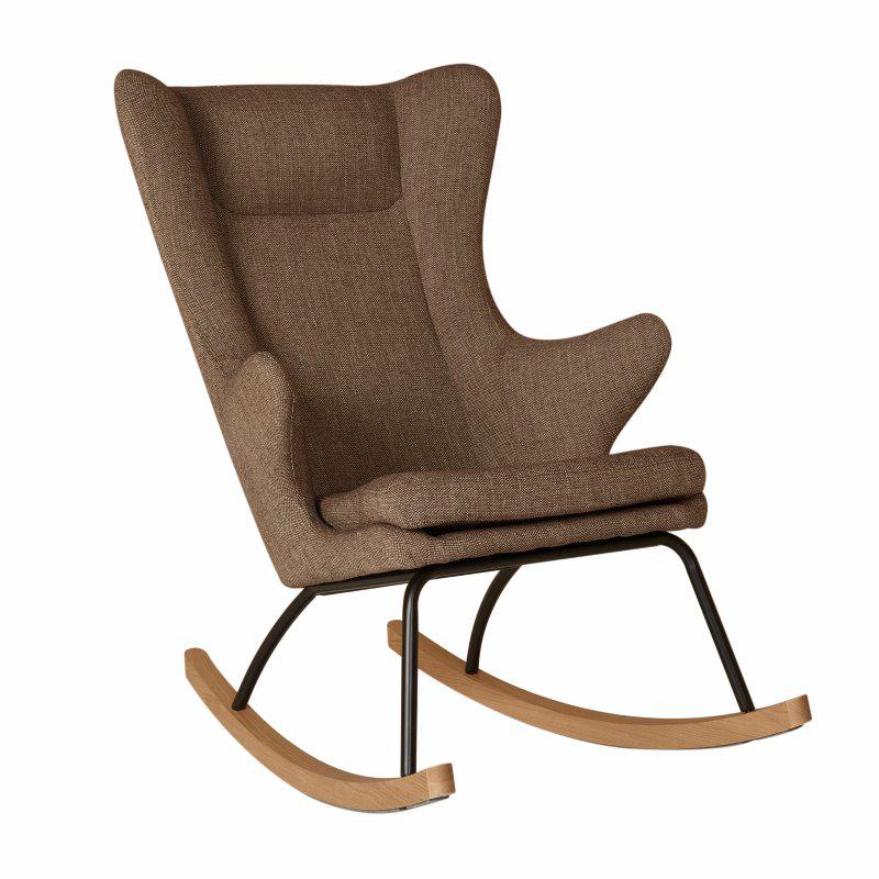 Picture of Quax® Rocking Kids Chair De Luxe Latte
