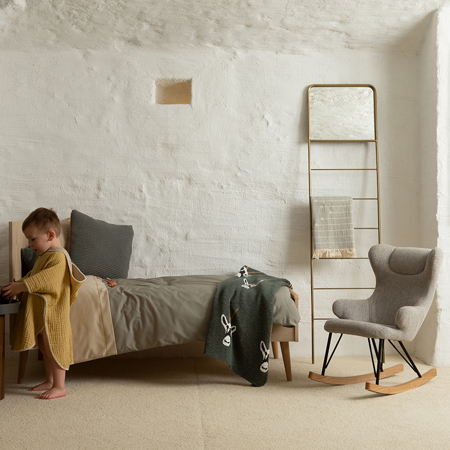 Picture of Quax® Rocking Kids Chair De Luxe Sand Grey