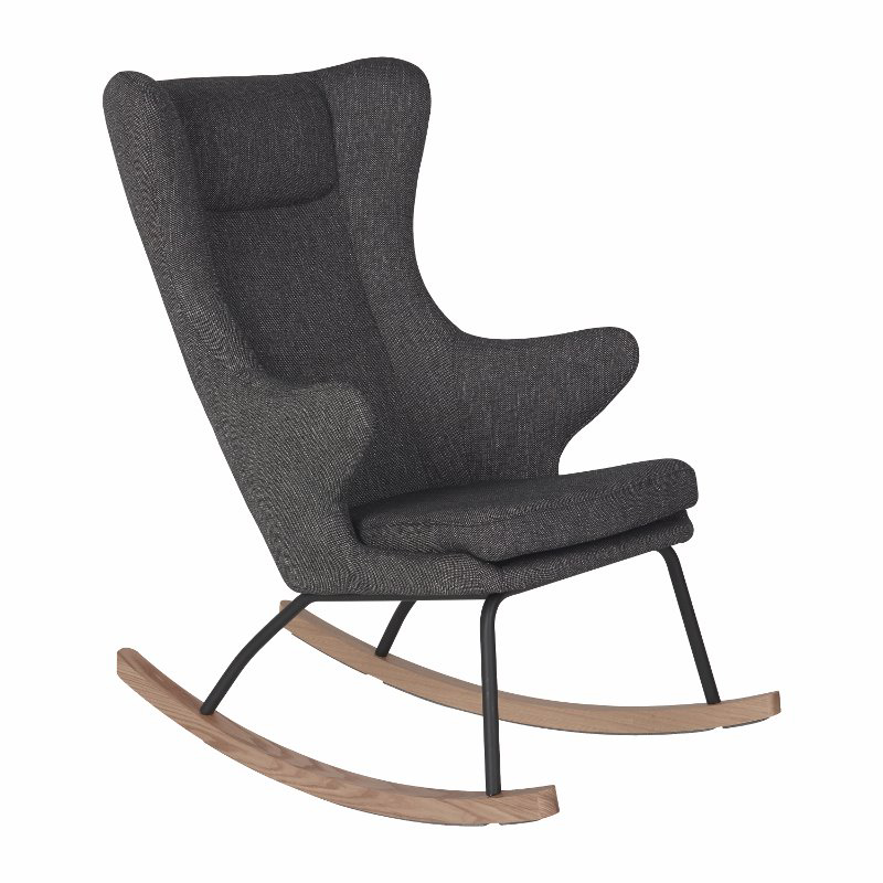 Picture of Quax® Rocking Adult Chair De Luxe Black