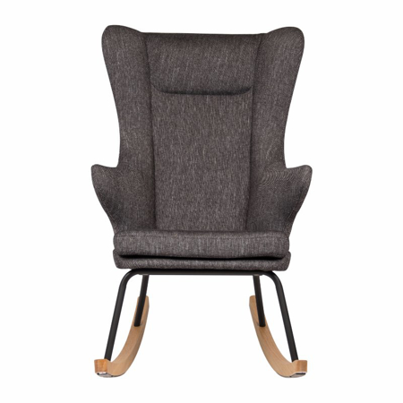 Quax® Rocking Adult Chair De Luxe Black