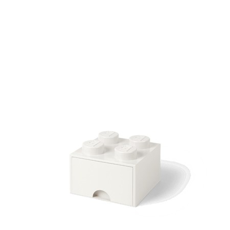 Picture of Lego® Storage Box with Drawers 4 White