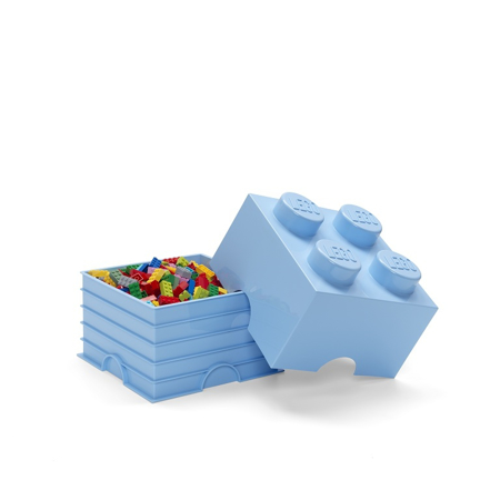 Picture of Lego® Storage Box 4 Light Royal Blue