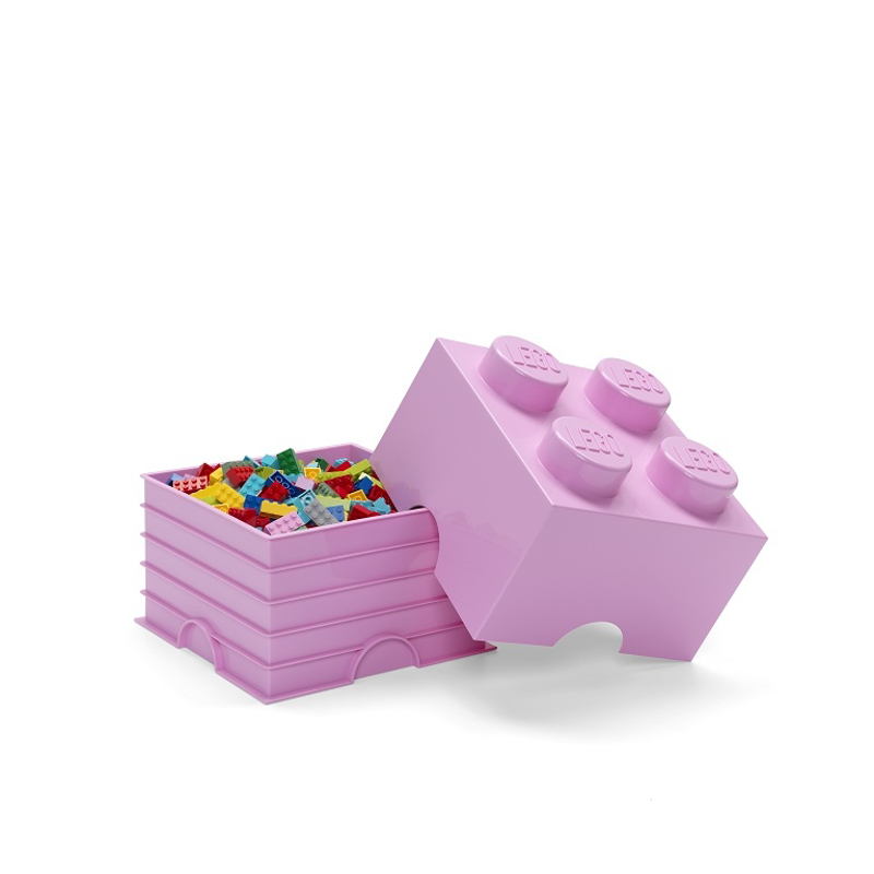 Picture of Lego® Storage Box 4 Light Purple