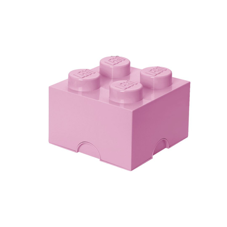 Lego® Storage Box 4 Light Purple