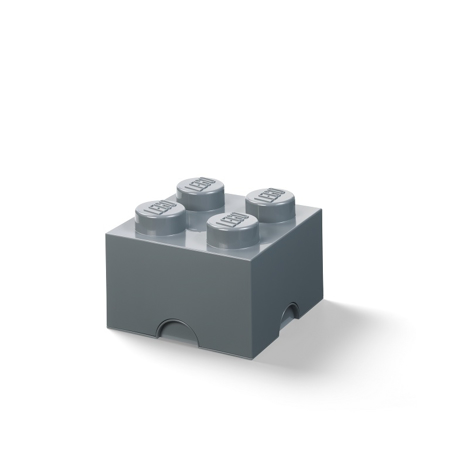 Picture of Lego® Storage Box 4 Dark Grey