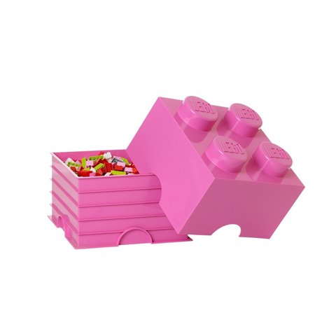 Picture of Lego® Storage Box 4 Bright Purple
