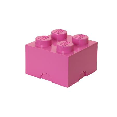 Lego® Storage Box 4 Bright Purple