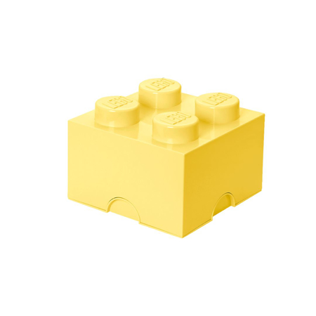 Picture of Lego® Storage Box 4 Cool Yellow
