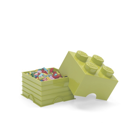 Picture of Lego® Storage Box 4 Spring Yellowish Green