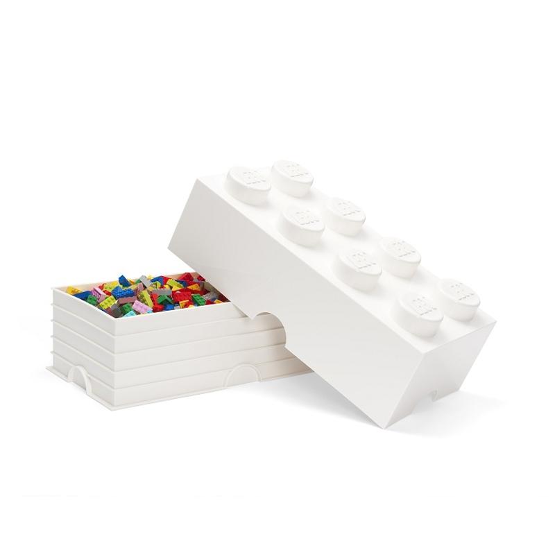 Picture of Lego® Storage Box 8 White