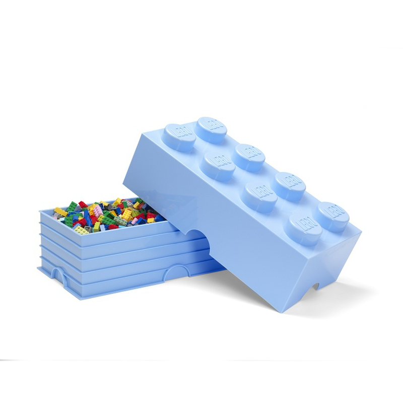 Picture of Lego® Storage Box 8 Light Royal Blue