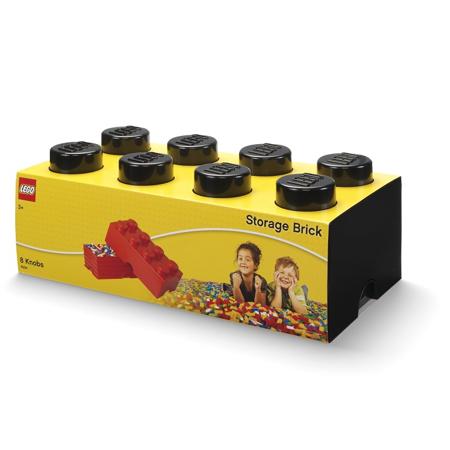 Picture of Lego® Storage Box 8 Black