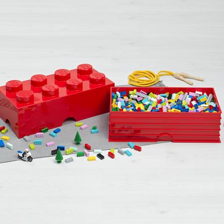 Picture of Lego® Storage Box 8 Bright Purple