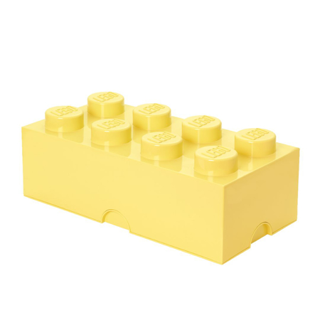 Picture of Lego® Storage Box 8 Cool Yellow