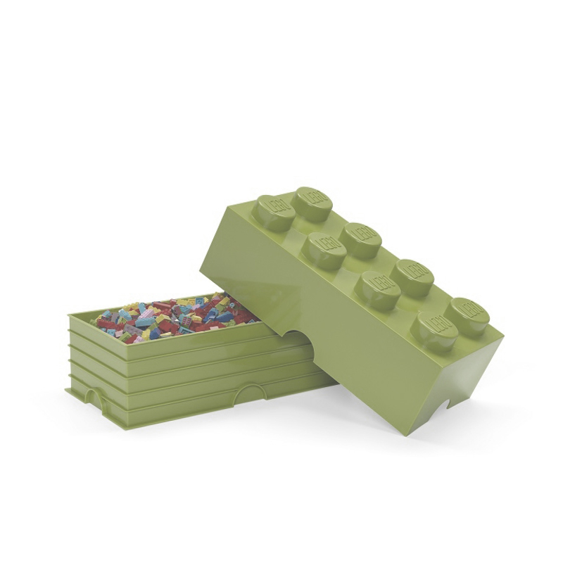 Picture of Lego® Storage Box 8 Spring Yellowish Green