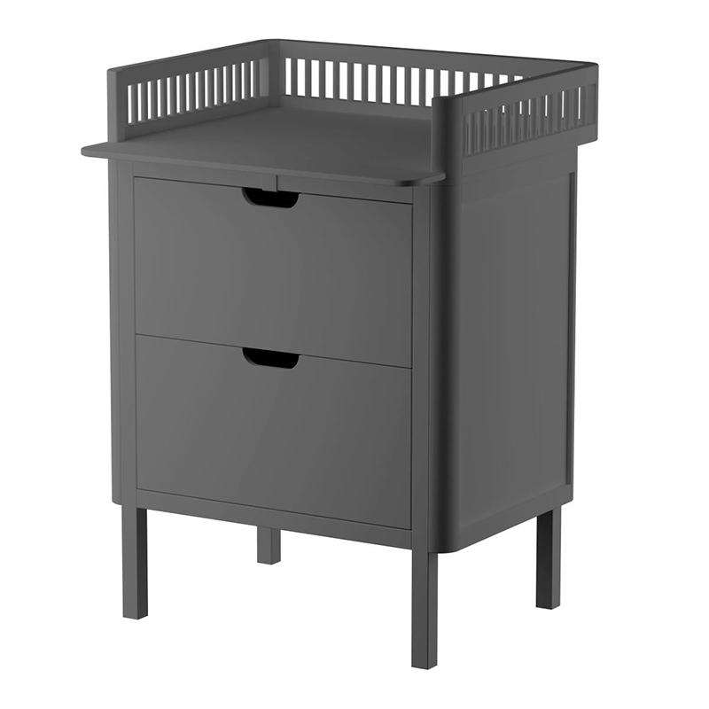Picture of Sebra® Changing Unit Drawers Classic Grey