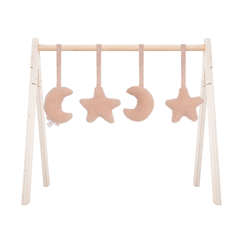 Picture of Jollein® Baby gym toys Moon Pale Pink
