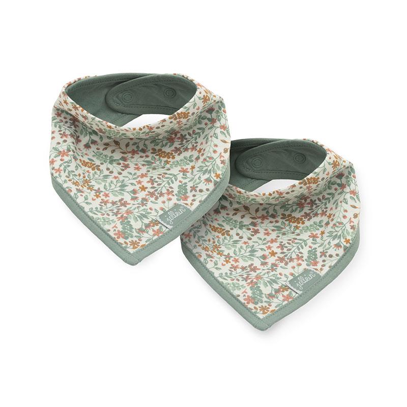Picture of Jollein® Slab bandana Bloom 2 pcs.