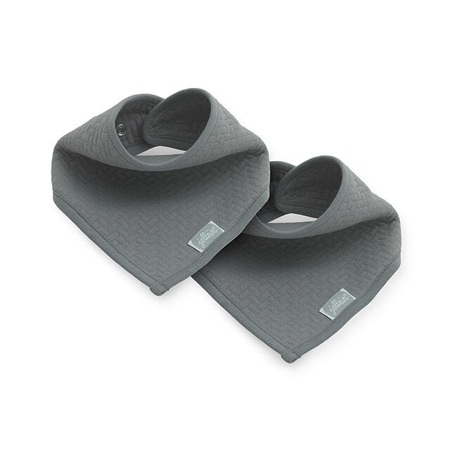 Jollein® Slab bandana Brick velvet storm gray (2pack)