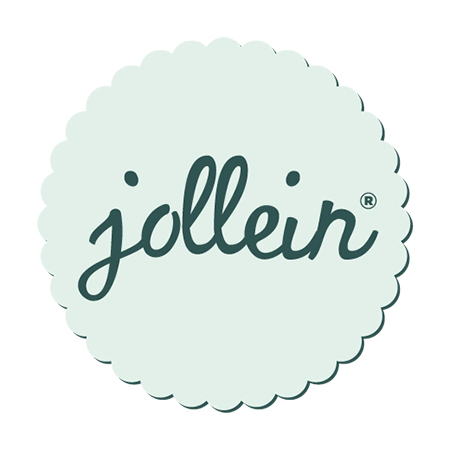 Picture of Jollein® Slab bandana Brick velvet Mustard (2pack)