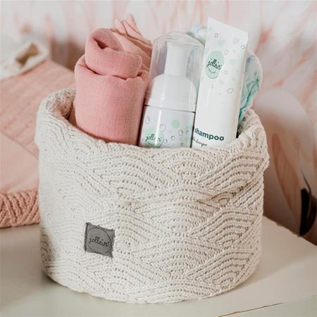 Picture of Jollein® Basket River Knit Cream White