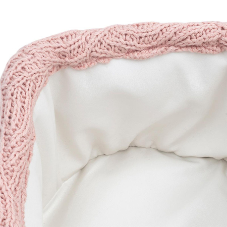 Jollein® Basket River Knit  Pale Pink