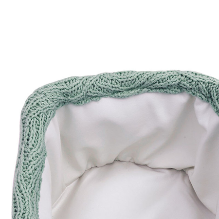 Jollein® Basket River Knit Ash Green