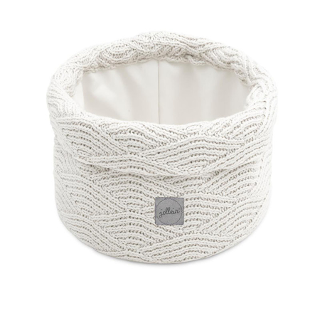 Picture of Jollein® Basket River Knit Cream White