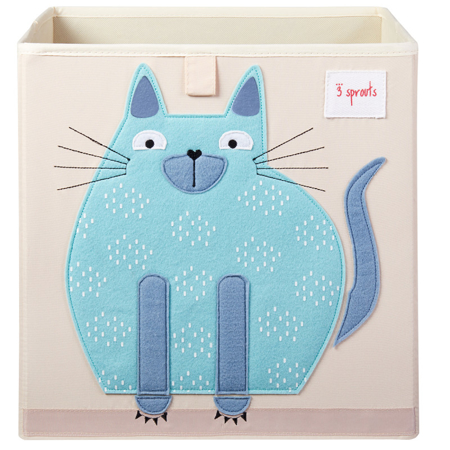 Picture of 3Sprouts® Toy Storage Box Cat