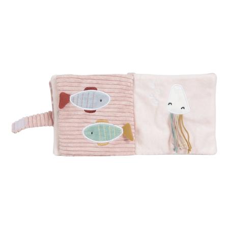 Little Dutch® Stroller booklet soft Ocean Pink