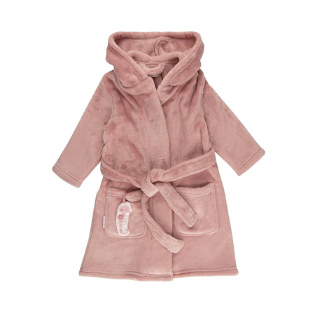 Picture of Little Dutch® Baby bathrobe Ocean Pink
