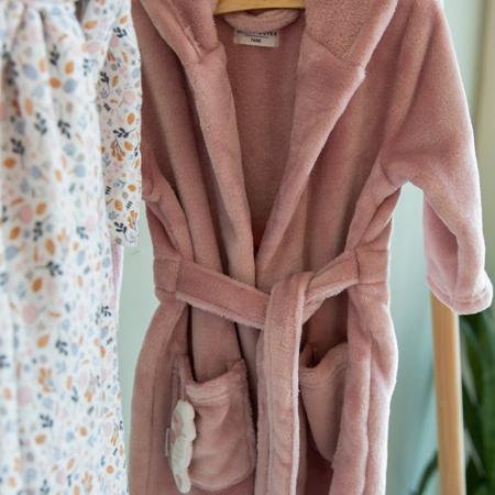 Picture of Little Dutch® Baby bathrobe Ocean Pink
