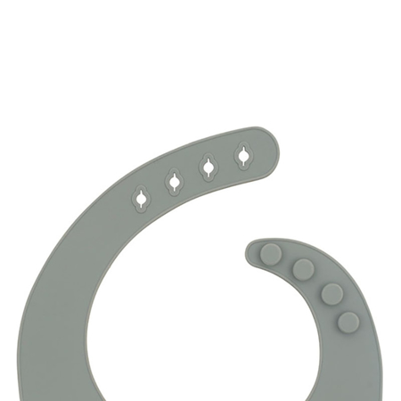 Picture of Jollein® Baby bib silicone Storm Grey