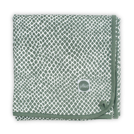 Picture of Jollein® Blanket 75x100cm Snake Ash Green