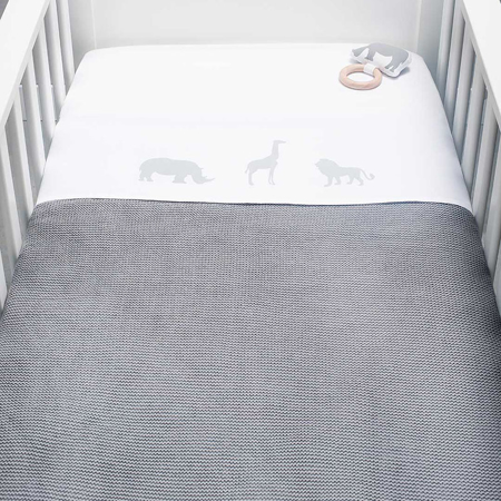 Picture of Jollein® Blanket 75x100cm Stone Grey